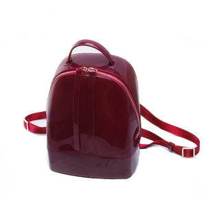 Shiny Silicone Backpack - boribags