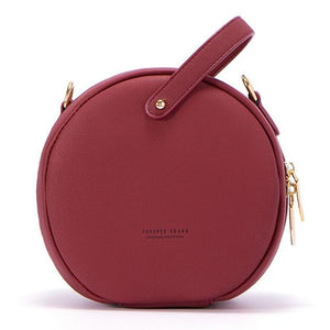 Round Cross-body Bag - boribags