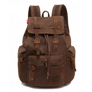 Vintage Canvas Backpack - boribags