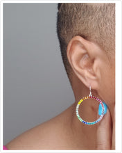 Load image into Gallery viewer, CIRCLE OF PRIDE EARRINGS