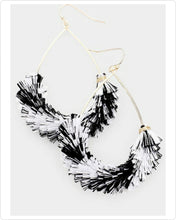 Load image into Gallery viewer, TWIST HER OUT TASSEL EARRINGS