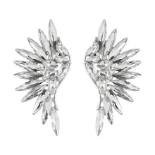 Load image into Gallery viewer, SANAAH RHINESTONE WING CLIP ON EARRINGS