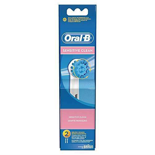 Oral-B Sensitive Clean Toothbrush Replacement Head - Soft Bristles, Pack of 2 - Healthxpress.ie