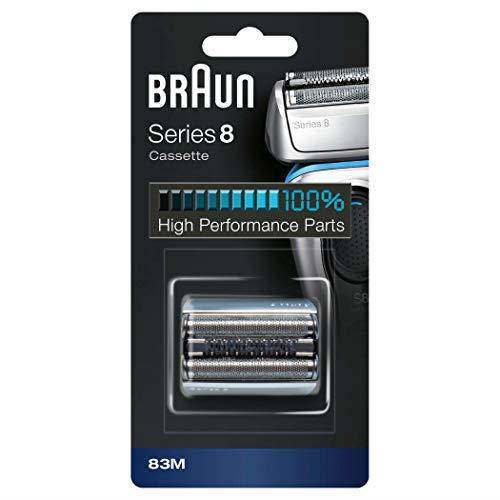 Braun Men's 83M Series 8 Foil and Cutter Cassette Replacement Head - Silver - Healthxpress.ie