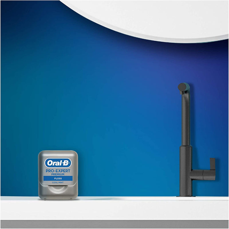 Oral-B Pro-Expert Premium Dental Floss - Clinically Proven, Cool Mint - 40M - Healthxpress.ie