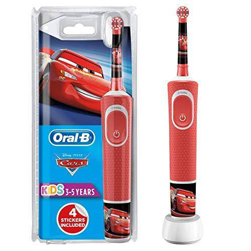 Oral-B Vitality Stages Power Kid's Electric Toothbrush - Extra Soft Bristles, Disney Cars - Healthxpress.ie