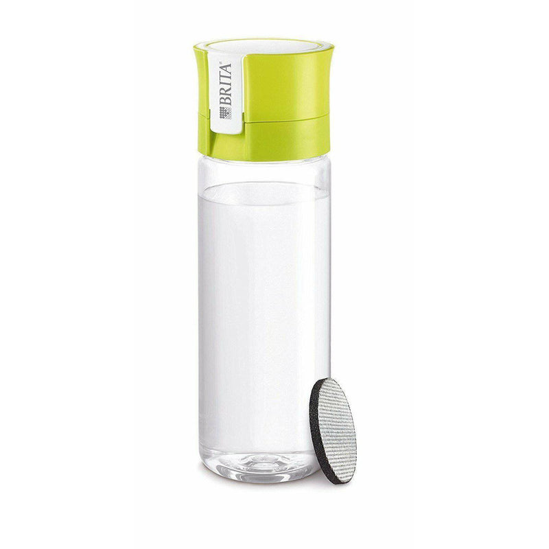 BRITA Fill & Go Vital Water Bottle  with MicroDisc Filter  - Lime, 600 mL. - Healthxpress.ie