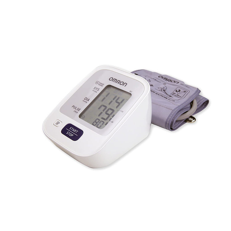Omron M2 Classic Upper Arm Digital Blood Pressure Monitor - One Touch Operation - Healthxpress.ie