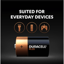 Duracell Plus Power Alkaline D Battery - Lasts Up to 50% Longer - Pack of 2 - Healthxpress.ie