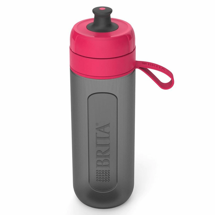 BRITA Fill & Go Active Sports Water Bottle with MicroDisc Filter -  Pink - 600 mL. - Healthxpress.ie