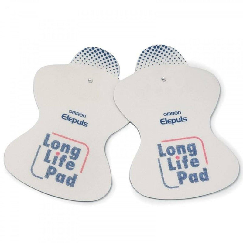 Omron Long Life Electrode Pads Replacement for ENS Massage Devices - Pack of 2 - Healthxpress.ie