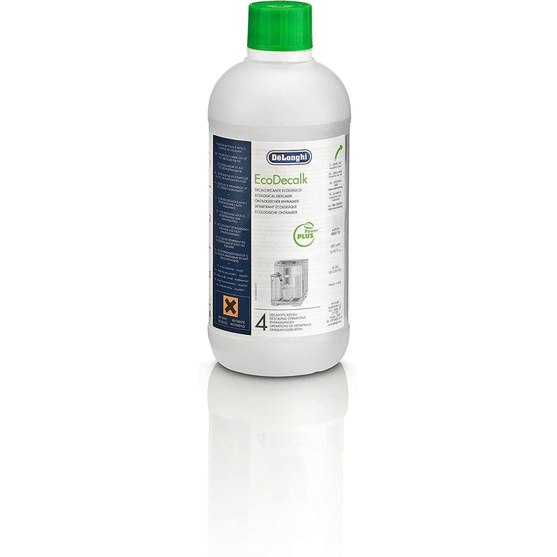 De'Longhi EcoDecalk Descaling Solution - For All Coffee Machines, 500ml, 2 Pack - Healthxpress.ie