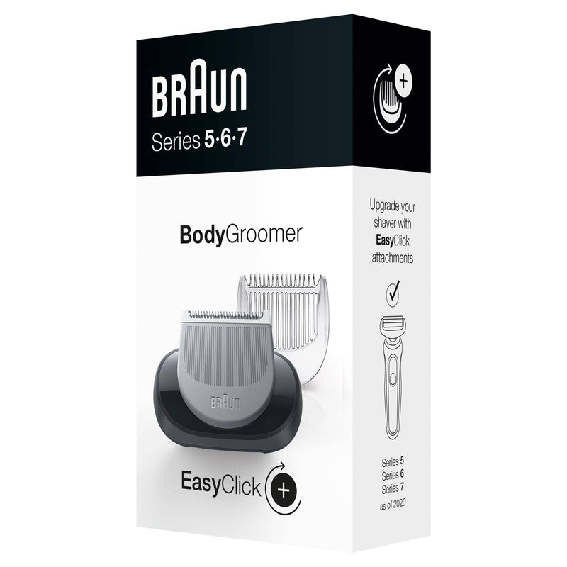 Braun EasyClick Body Groomer Attachment for Braun Series 5, 6, 7 Electric Shaver - 2020 Models Only - Healthxpress.ie