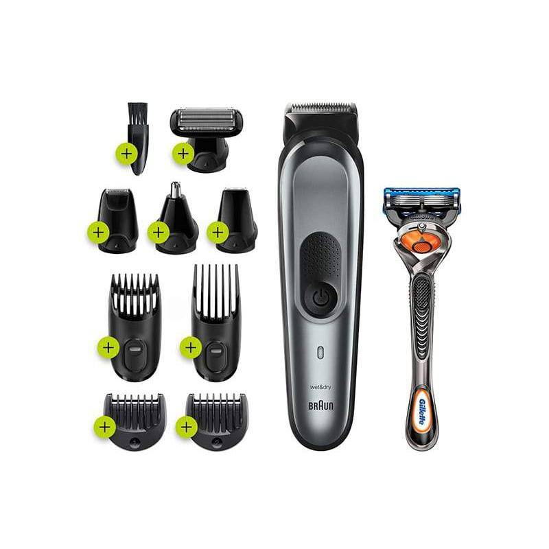 Braun Men's MGK7221 All-In-One Trimmer - 10-in-1 Multigroomer with 8 Attachments - Healthxpress.ie