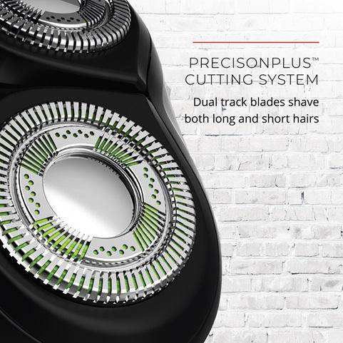 Remington Men's R5000 R5 Series Rotary Shaver - Twintrack Blades, Active Contour - Healthxpress.ie