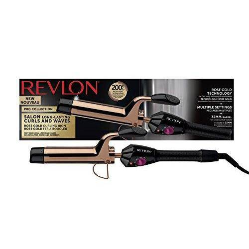 Revlon Pro Collection Salon Long-Last Curls and Waves Styler - 20 Heat Settings - Healthxpress.ie