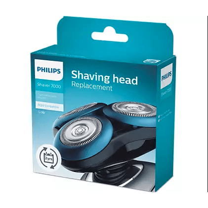 Philips SH70/70 Series 7000 Replacement Shaver Heads - GentlePrecision Blades - Healthxpress.ie
