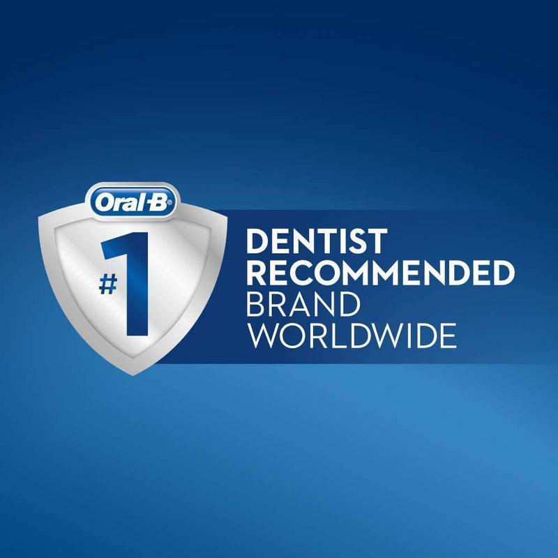 Oral-B PRO 2 2500 3D White Rechargeable Electric Toothbrush CrossAction Bristles - Healthxpress.ie