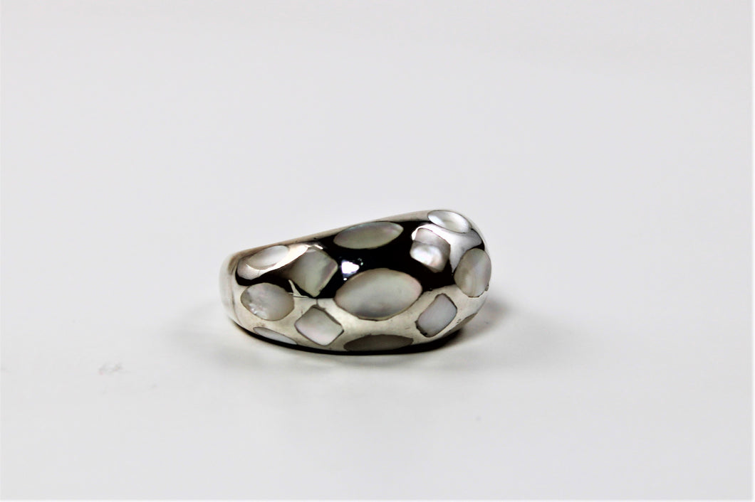 Mother of Pearl Ring  - 1 Available in size 9!  On Sale!