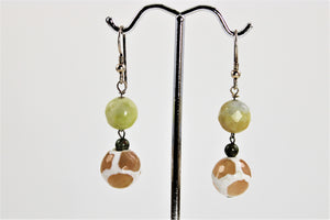 Agate Earrings - ON SALE!