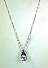 Load image into Gallery viewer, White Topaz Necklace