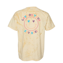 Load image into Gallery viewer, Love on Tour 2021 Comfort Colors Tie-Dye Tee