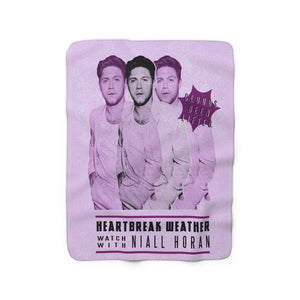 Niall Heartbreak Weather Sherpa Fleece Blanket