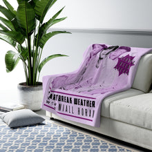 Load image into Gallery viewer, Niall Heartbreak Weather Sherpa Fleece Blanket