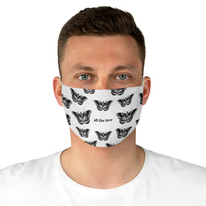 All the Love Fabric Face Mask