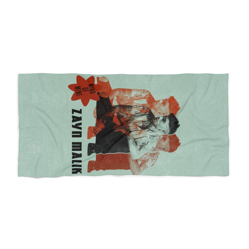 Zayn Mind of Mine Beach Towel