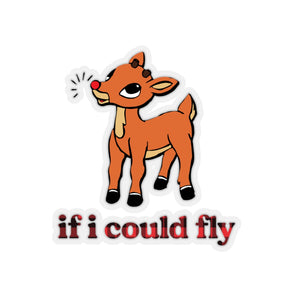 If I Could Fly Stickers
