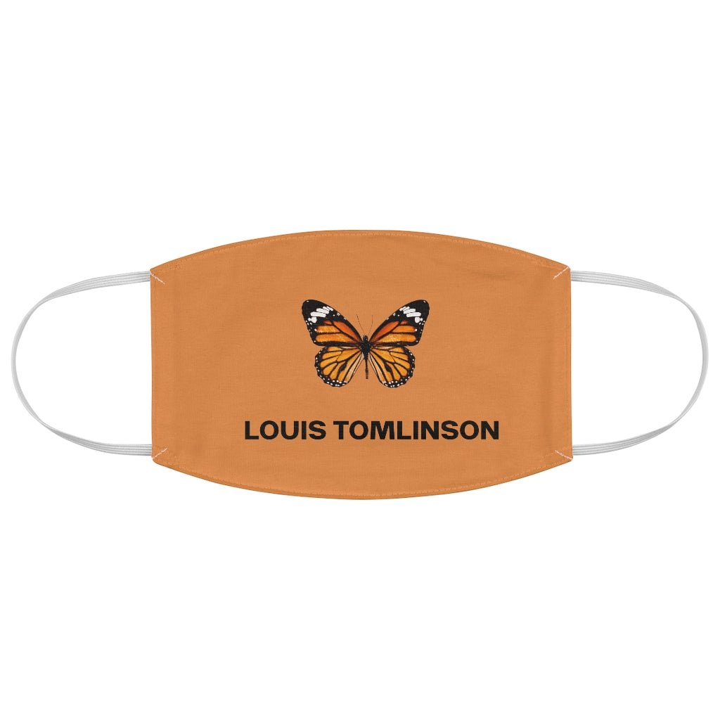 Louis Butterfly Fabric Face Mask