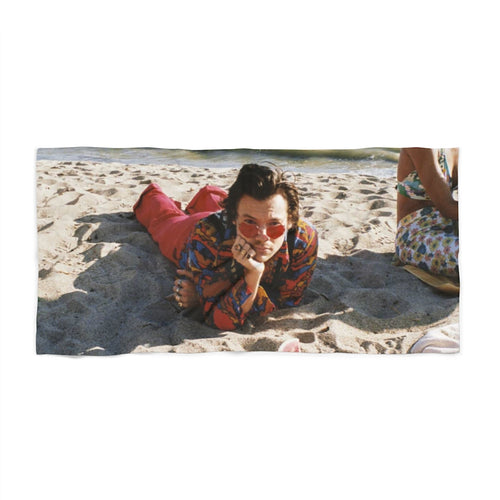 Harry Watermelon Sugar Beach Towel