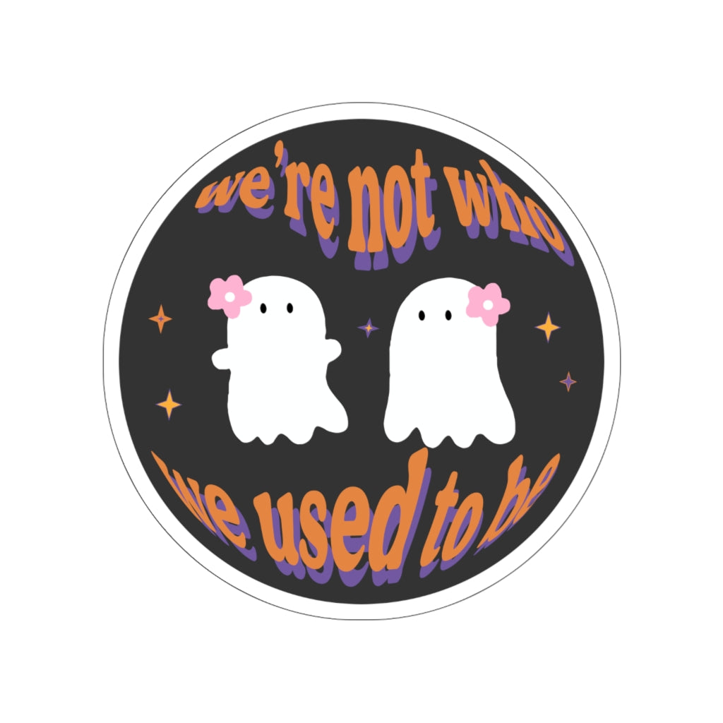 Two Ghosts Stickers