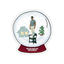 Load image into Gallery viewer, Heartbreak Weather Snow Globe Stickers