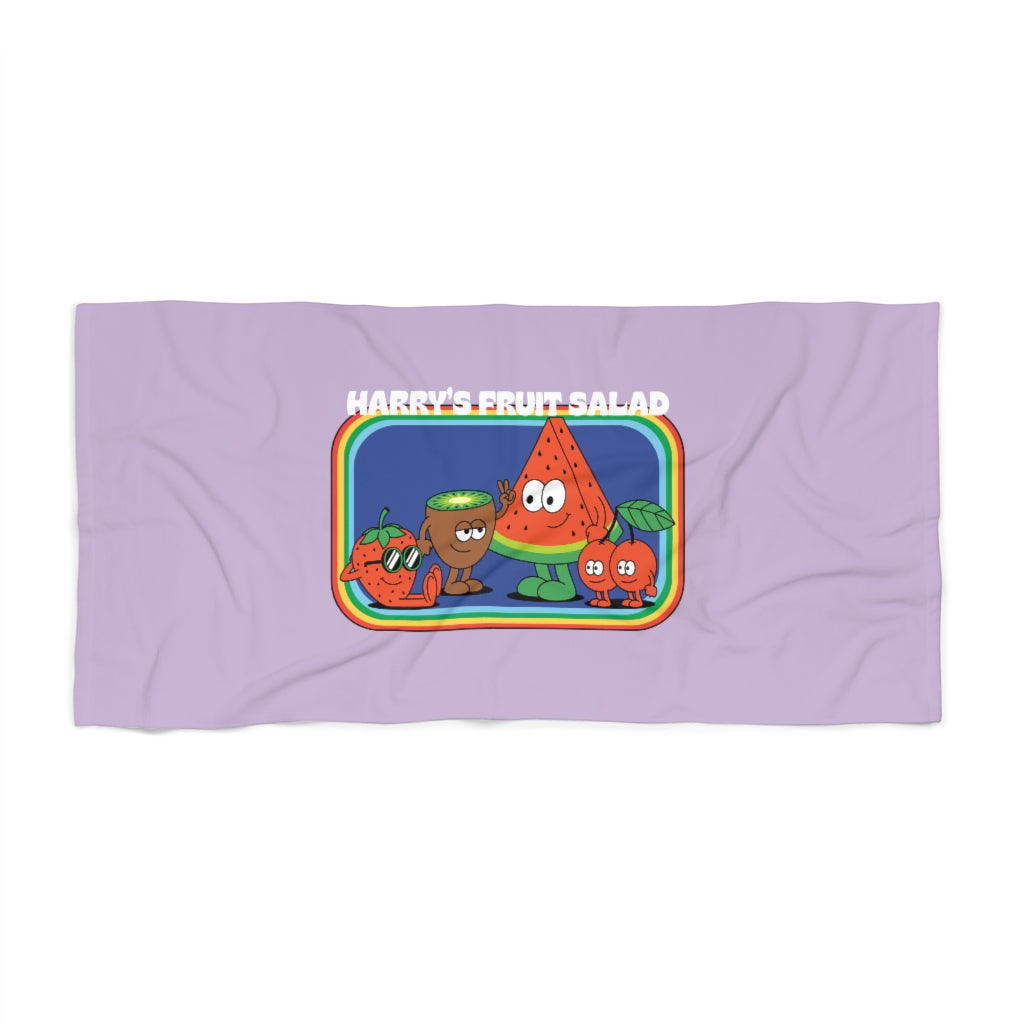 Harry's Fruit Salad Beach Towel