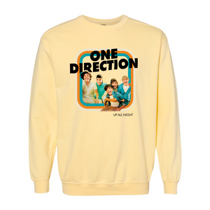 Up All Night Comfort Colors Sweatshirt