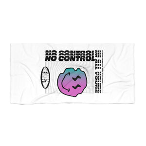 No Control Beach Towel