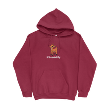 Load image into Gallery viewer, If I Could Fly Hoodie