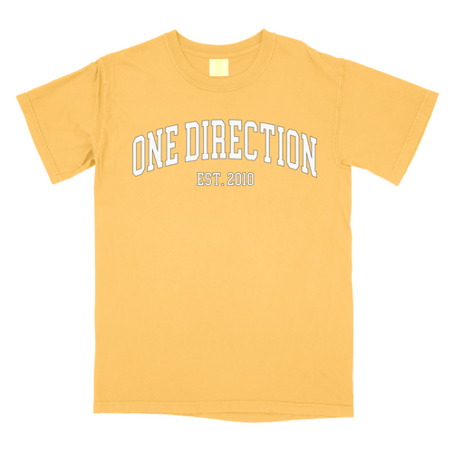 1D Block Letters Comfort Colors T-Shirt