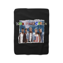 Load image into Gallery viewer, 1D Collage Sherpa Fleece Blanket