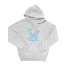 Load image into Gallery viewer, Temporary Fix Hoodie (Light Blue Design)