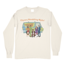 Load image into Gallery viewer, Those Meddling Kids! Comfort Colors Long Sleeve T-Shirt