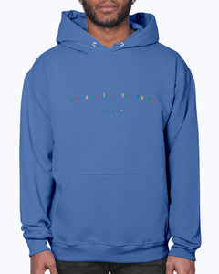 Primary Colors Put a Little Love Hoodie