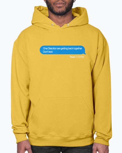 Don't Text Hoodie