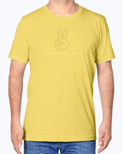 Load image into Gallery viewer, TPWK Peace Sign Yellow T-Shirt