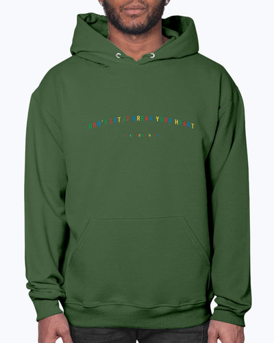 Primary Colors Don't Let It Break Your Heart Hoodie
