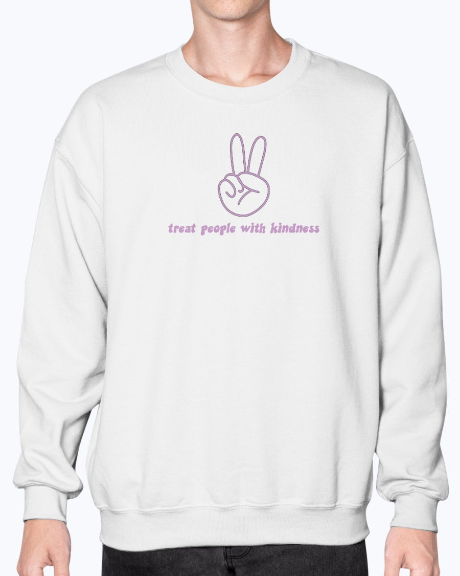 TPWK Peace Sign Lilac Sweatshirt