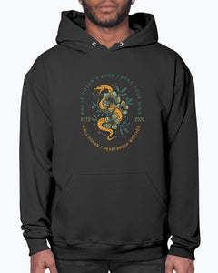 Cross Your Mind Hoodie