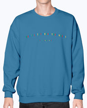 Load image into Gallery viewer, Primary Colors Don't Let It Break Your Heart Sweatshirt